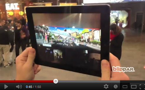 Augmented reality video