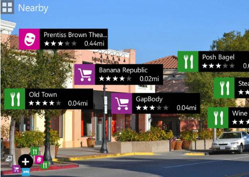 Nokia augmented reality app