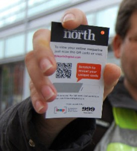 The Big Issue In The North QR Code