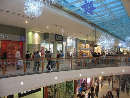 In-Store Mobile Commerce - Shopping Mall