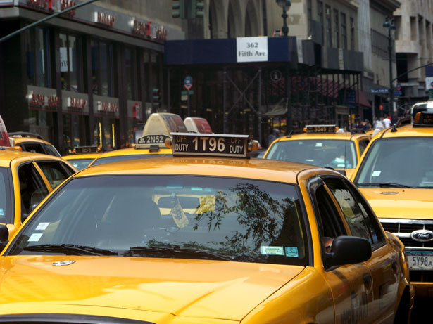 Mobile Payments Taxi Cabs