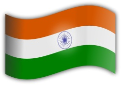 Cyber Monday Flag of India