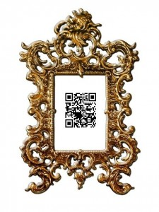 qr codes picture frame