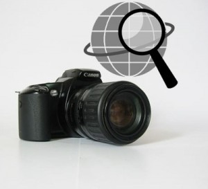 Geolocation technology photography