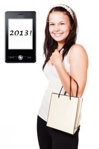 Mobile commerce retail industry