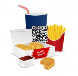 QR Codes Mcdonalds Nutrition Facts