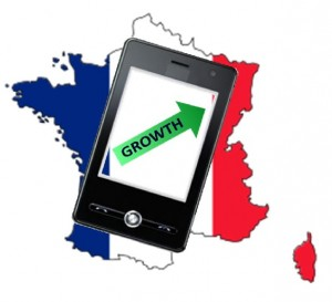 mobile commerce growth in France