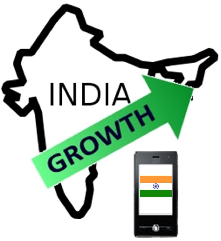 mobile advertising growth - India