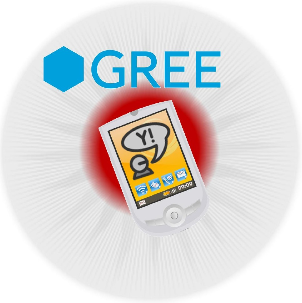 Mobile Games Gree and Yahoo! Japan