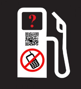 QR Code gas station confusion