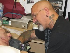 QR Codes test tattoo skills