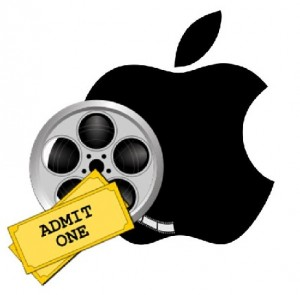 m-commerce Apple technology for the movies