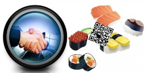 qr codes shushi partnership