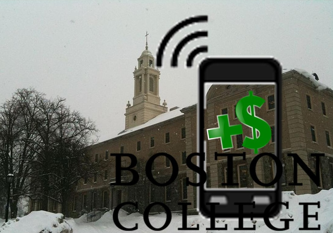 Boston College Mobile Payments