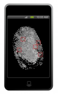 Mobile Security - fingerprint scanner