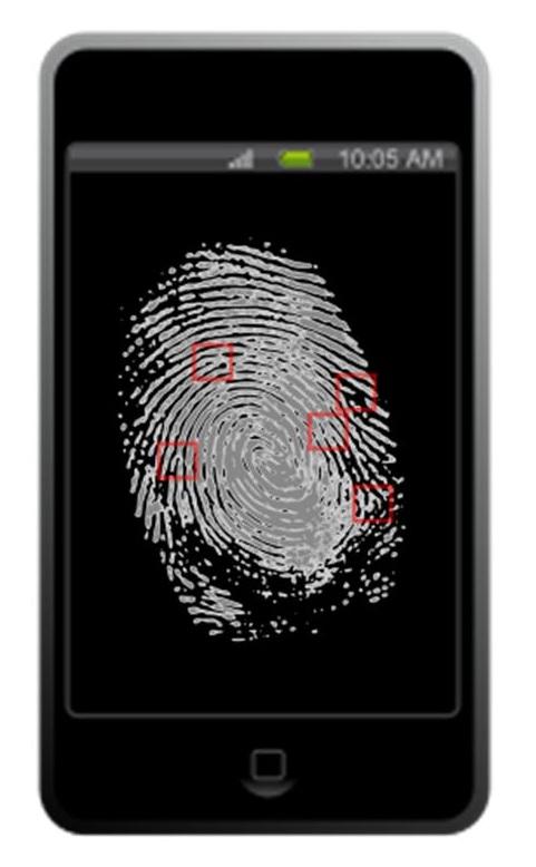 NFC Technology fingerprint reading iPhone
