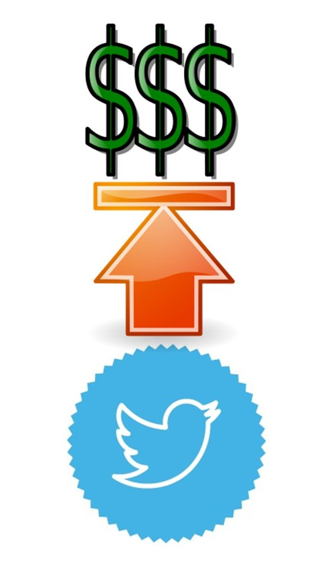 Mobile Apps - Twitter Stock Price Increase