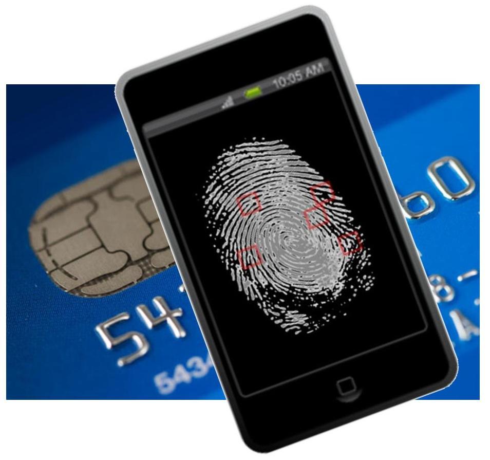 fingerprint scanning mobile payments