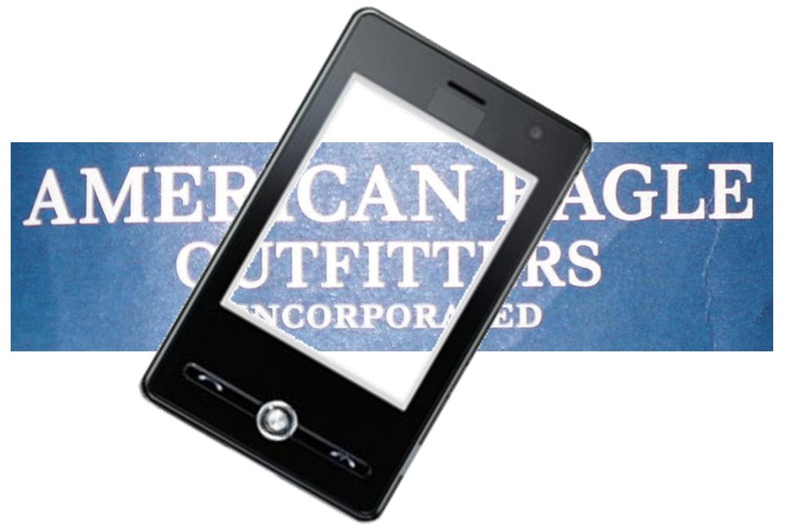 American Eagle Outfitters m-commerce