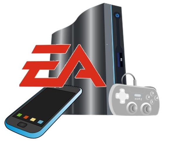 EA mobile games and console games