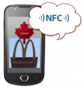 McDonald's NFC Technology Canada