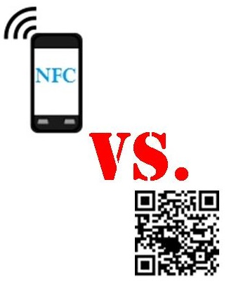 NFC technology vs QR codes
