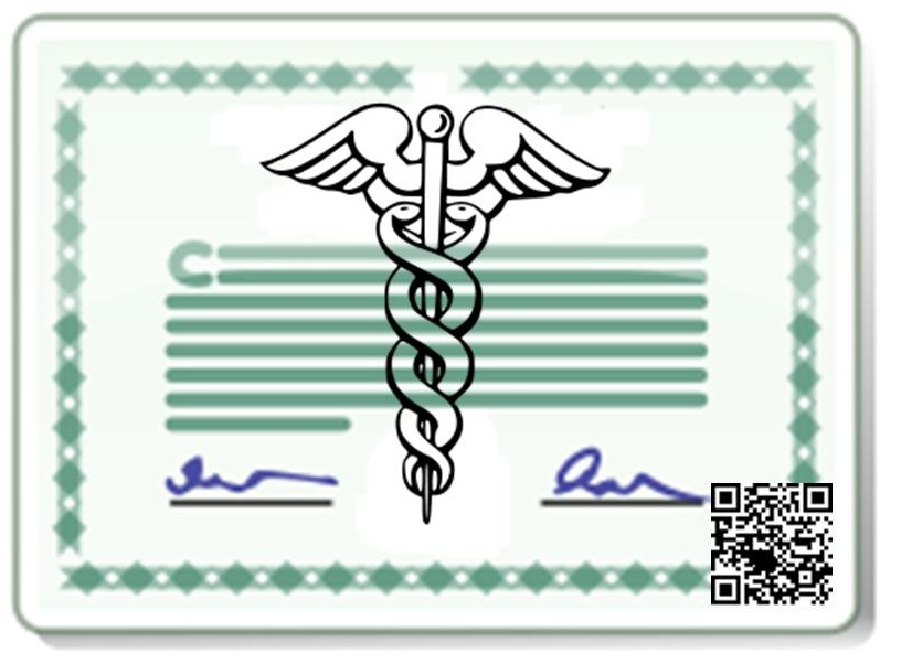 QR Codes Medical License