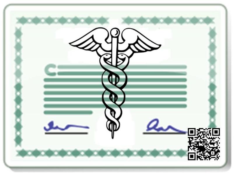 QR Codes Medical License