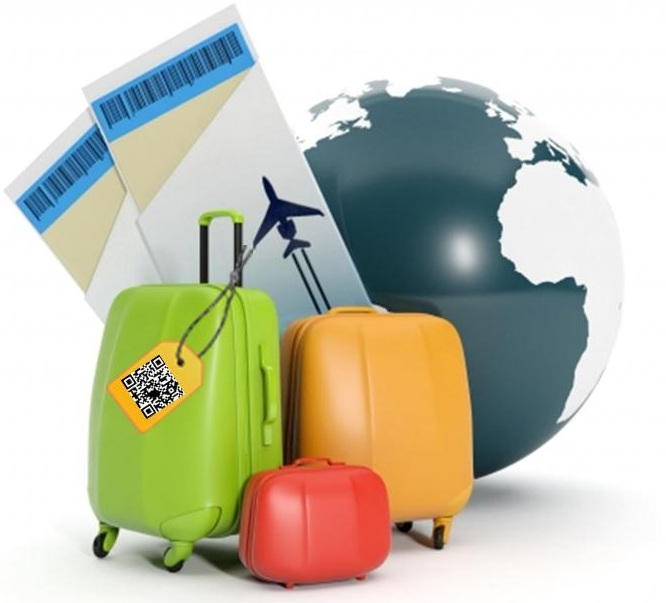 Qr Codes Luggage Tags
