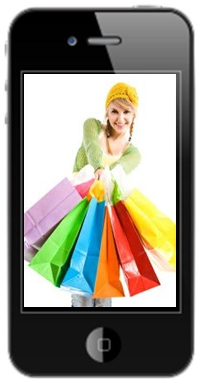 Mobile Commerce Shopping - Black Friday