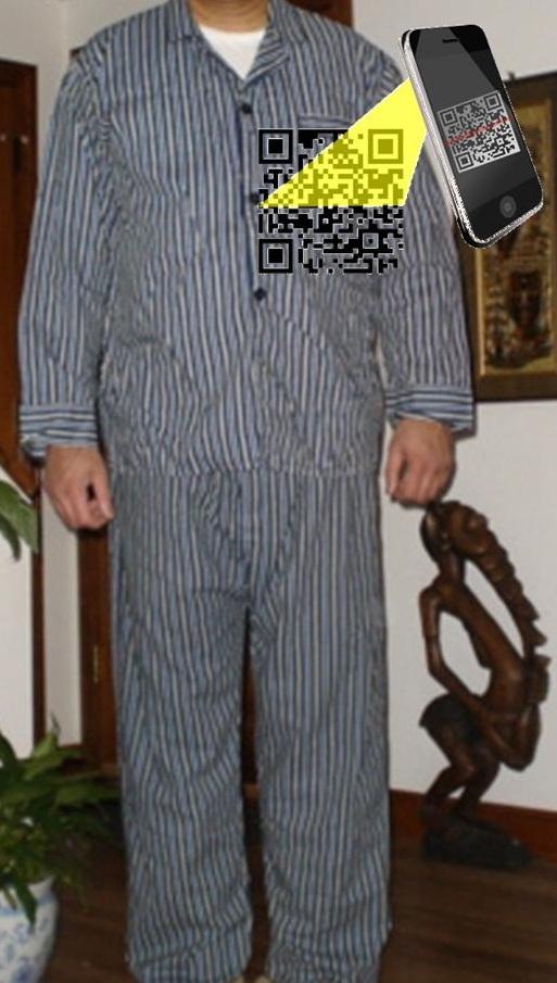 qr codes pajamas
