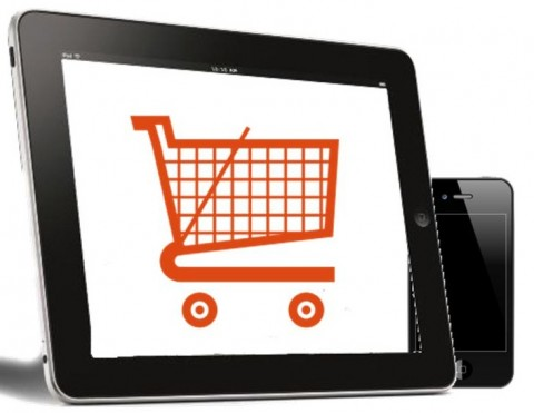 Mobile Commerce - shopping on tablets and smartphones
