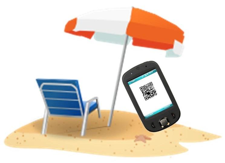 QR Codes Beach