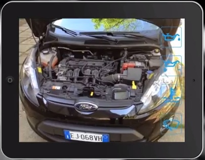Augmented Reality for car maintenance