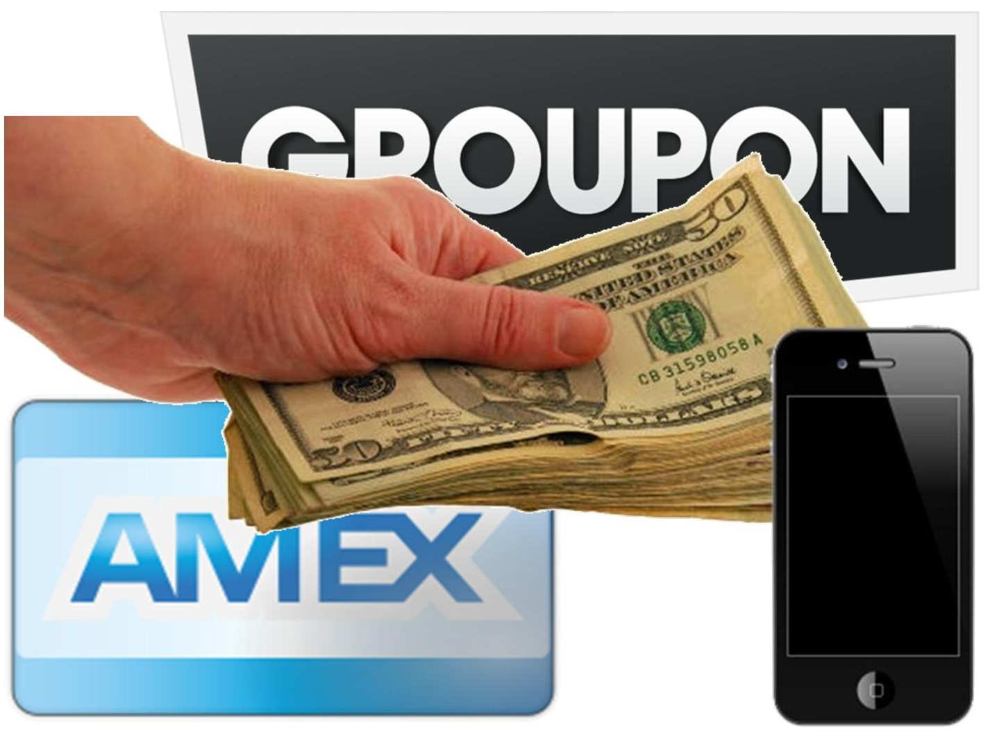 Mobile Payments - Support from Groupon and American Express