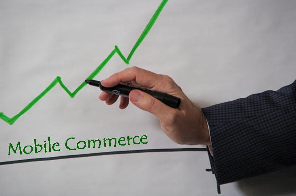 Mobile commerce growth UK