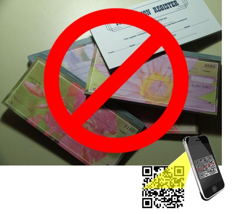 QR Codes - No more checks