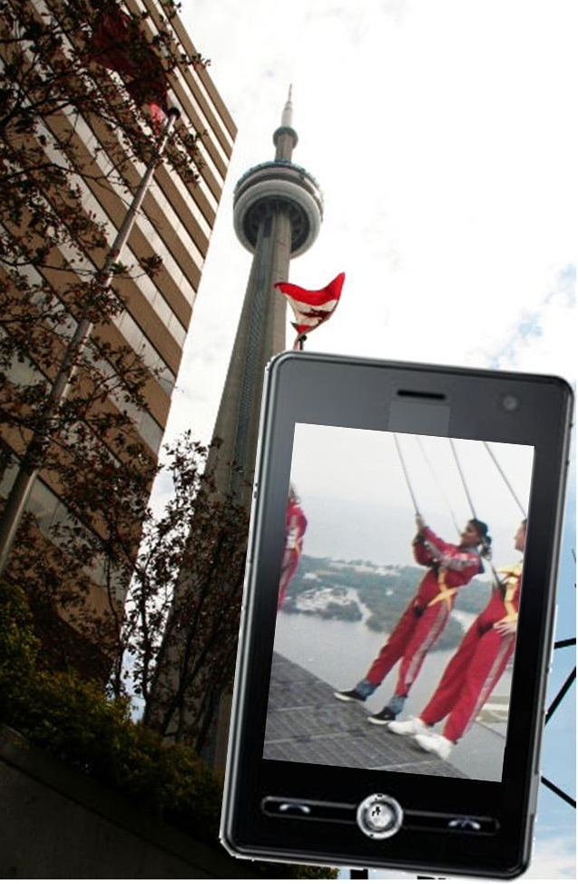 augmented reality CN Tower EdgeWalk
