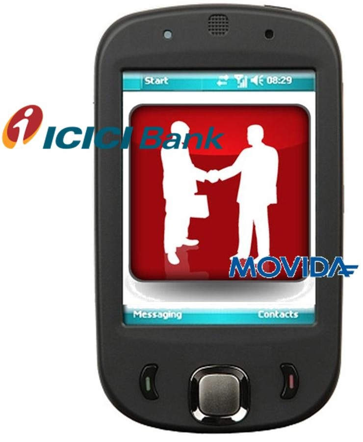 Mobile Commerce - ICICI Bank & Movida Partnership