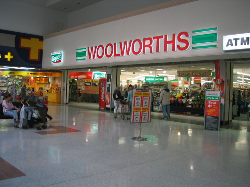 QR Codes - WoolWorths
