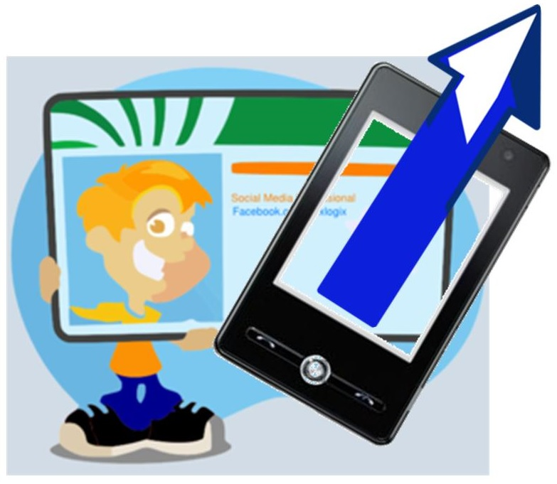 Social media marketing mobile commerce boost