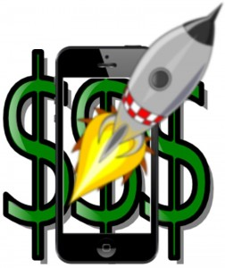 Mobile Commerce Sales Blast Off