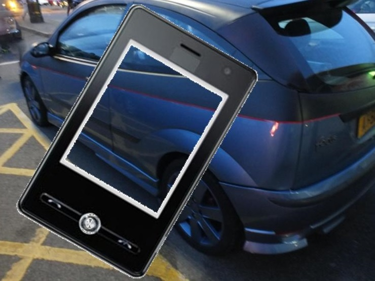Mobile commerce car shopping