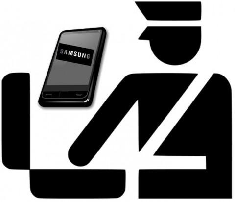 U.S. Border and Samsung gadgets