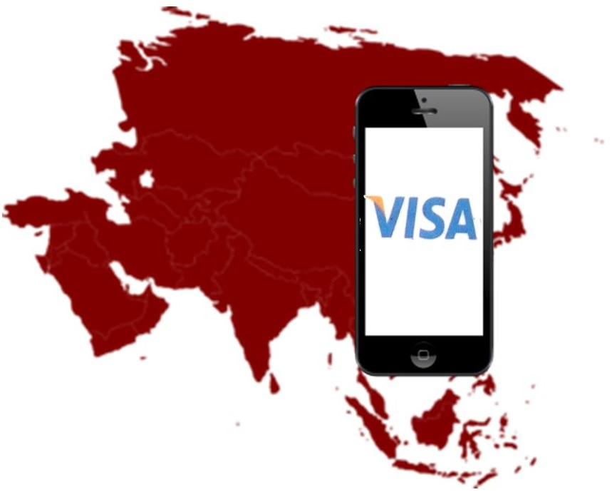 Visa mobile payments in Asia