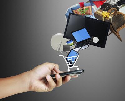 mobile commerce - online sales