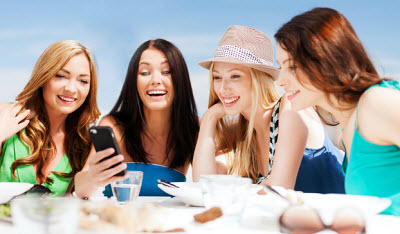 Mobile Gaming popular among females