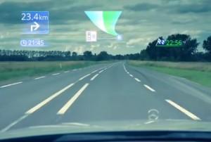 Augmented Reality - Pioneer NavGate HUD