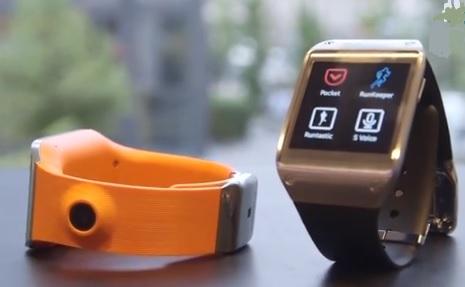 Gadgets - Samsung Glaxay Gear Smartwatch