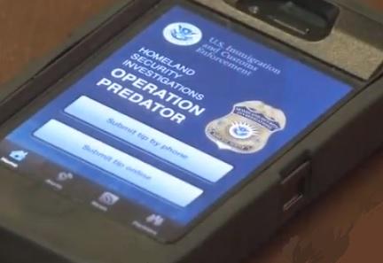 Mobile Marketing - Operation Predator App